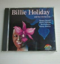Billie Holiday and Her Orchestra -CD di Jazz Music-Giants of-1990 -Ottimo Stato