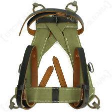 Tropical A-Frame with Leather Straps - WW2 Repro German Webbing Carrier Soldier