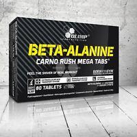 OLIMP BETA ALANINE CARNO RUSH MEGA TABS 1000MG STRENGTH AND ENDURANCE ENERGY