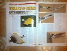YELLOW BIRD RC SPORT plan y escribir por C Carr