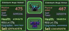 Roblox Dungeon Quest - Enchanted Forest - Eldenbark - Green - Mage Setup