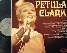 "PETULA CLARK Album 12"" LP DARK RED VINYL Stereo HALLMARK UK HMA 250 A2/B2 @Excl"