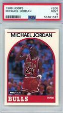 1989 Hoops # 200 Michael Jordan PSA 9 Mint Bulls (51861587)