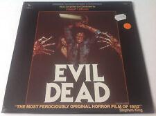 EVIL DEAD~JOSEPH LODUCA~Mega Rare ORIG 1984 Horror Soundtrack/OST LP **SEALED**