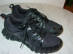 Mens Reebok Zigwild TR 5.0 CN2443 Black/Coal Ash Grey Running Shoes! Size 8.5
