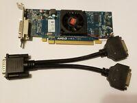 WIN 7 8 10 AMD HD 6350 Low SFF Full Profile Dual Display DVI or VGA GPU Dell HP