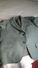 Tweed Scottish Vintage Argyle kilt  Jacket Stag/Horn Buttons
