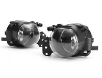 Pair clear foglamps foglights fogs BMW 3, 5 & 6 series E90 E91 E60 E61 E63 E64