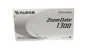 Fujifilm Zoom Date 1300 Instruction Manual, Good Condition, Free Post in UK