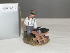 Thomas Gunn GW065B Militare Tedesco Figura di fumare con macchina da scrivere giocattolo Soldato