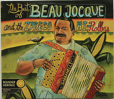 THE BEST OF BEAU JOCQUE & ZYDECO HI-ROLLERS   CD