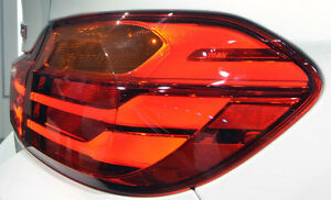 BMW F32 F33 F36 F83 4 Series European Spec Outer Taillight Pair Amber Lenses OEM