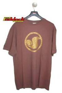 Tee Shirt DVS Clipse chocolat  Taille S