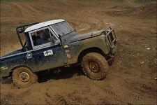 779042 Land Rover 4 X 4 Curso de A4 Foto Impresión