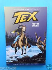 tex n. 17 collezione storica a colori partita chiusa fumetti repubblica espresso