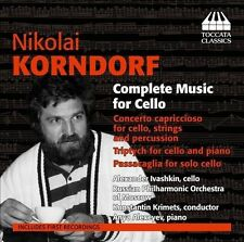 Korndorf: Complete Music for Cello, New Music