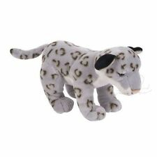 "8"" Snow Leopard Plush Stuffed Animal Toy"