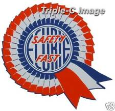 BMC Rosette Safety Fast  Ecurie vinyl decal (#104)