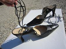 PETER KAISER-Chaussures Femme ELEGANTES-CUIR SOUPLE NOIR--T41-TBE
