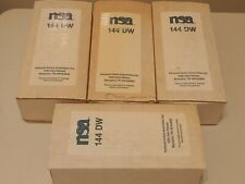 NSA Water Treatment Filter Unit model# 144 DW Well Water lot of 4