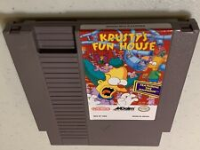 Krusty's Fun House NES Nintendo! Cleaned and Tested FREE SHIPPING-->