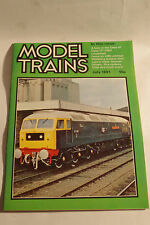 Model Trains (Airfix) July 1981