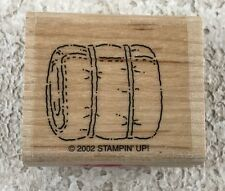 Stampin' Up! Sleeping Bag Campout 2002 Replacement Wood Mounted Single Stamp
