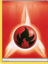 Trainer Fire Pokémon Individual Cards