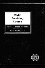NRI - Radio Servicing Course for Home Study (1946) - Antique Repair Course - CD