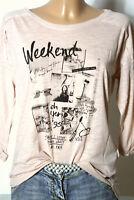 edc by ESPRIT Shirt Gr. XS zart rosé/rosa 3/4-Arm Damen Langarmshirt/Shirt