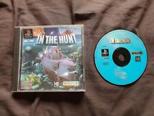 IN THE HUNT Sony Playstation 1 Game PS1 PLEASE READ