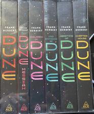 Frank Herbert's Dune Saga 6 SOFTCOVER BOX SET NEW & SEALED Trilogy Books 1 - 6