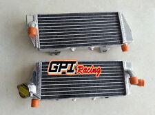 FOR KTM 125/150 SX/EXC 250/350 SX-F 2016-2018 2017 16 17 aluminum  radiator