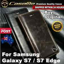 Samsung Galaxy S7 / S7 Edge Premium Quality Magnetic Leather Wallet Cover Case