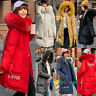 New Women's Winter Down Cotton Parka Hooded Coat Quilted Jacket With Fur Collar
