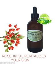 1 Oz Glass Dropper Premium Rosehip Oil Refined  Pure Organic Fresh Skin Body
