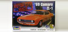 Revell Monogram Motor City Muscle 1969 Chevy Camaro ZL-1 Plastic Model Kit 1/25