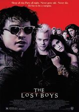 """THE LOST BOYS MOVIE POSTER IT'S FUN TO BE A VAMPIRE KIEFER SUTHERLAND 24""""X36"""""""