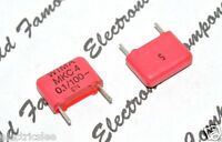 10pcs - WIMA MKC4 0.1uF (0,1µF 100nF) 100V pitch:10mm 5% Polycarbonate Capacitor