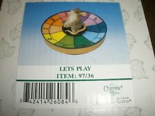 New Charming Tails Fitz & Floyd Figure Lets Play #97/36