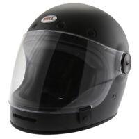 Bell Cruiser Bullitt Matt Black Motorcycle Helmet Crash Helmet New