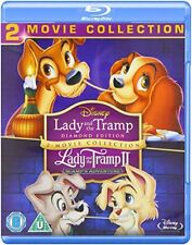 Lady and The Tramp Diamond Edition 1 & 2 Scamp's Adventure Blu-ray Disney