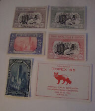 US Philaletic Society Exhibition Convention Label Stamp 1930's 1940's Lot 5 H