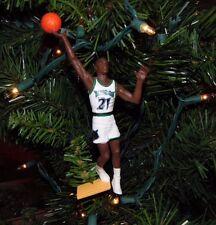 kevin GARNETT minnesota TIMBERWOLVES basketball NBA xmas ornament 21 vtg JERSEY