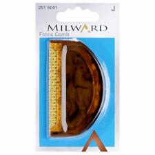 Milward Fabric Comb Brown Plastic De-bobbling Wool Garments Clothes