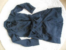 ONLY Trench Kord Cord Mantel schwarz 38 TOP