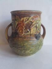 Vintage Original Roseville Blackberry 570-5 Art Pottery Vase.