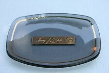 Houze Art Glass UFCW United Food & Commercial Workers Union Ash Trinket Tray