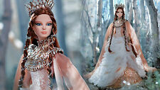 STUNNING FARAWAY FOREST 2015 *LADY OF THE WHITE WOODS BARBIE*NEW IN SHIPPER*