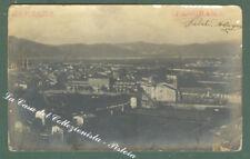 Liguria. SARZANA. Spezia. Panorama. Cartolina d'epoca fotografica.